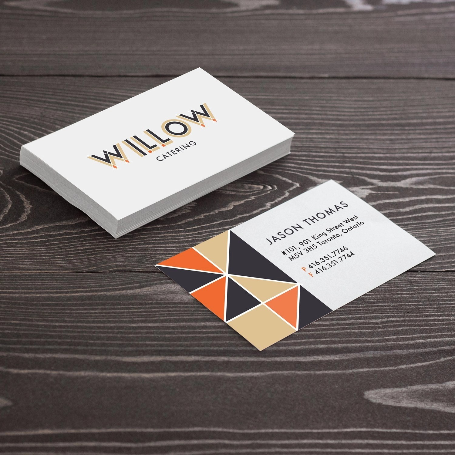 24 Hour Business Cards printed in Burnaby