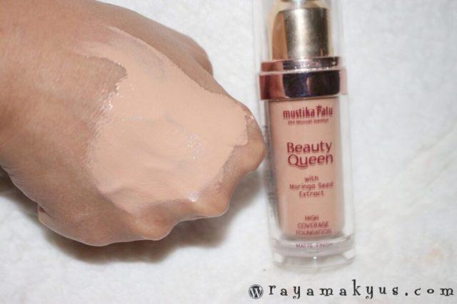 Mustika Ratu Beauty Queen Matte Finish Shade Nude Beige