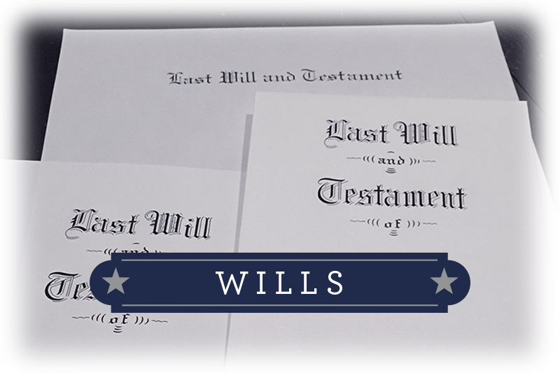 wills and will contests
