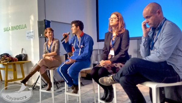 Coworkation Panel Coworking Europe Conference 2015