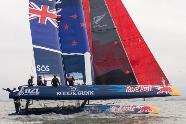 San Francisco (USA,CA) - 34th America's Cup - NZL Sailing Team