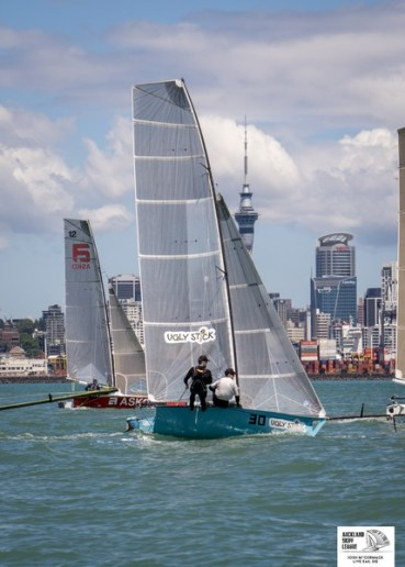 Auckland Champs 12ft skiffs 11