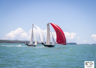 Auckland Champs 12ft skiffs 16