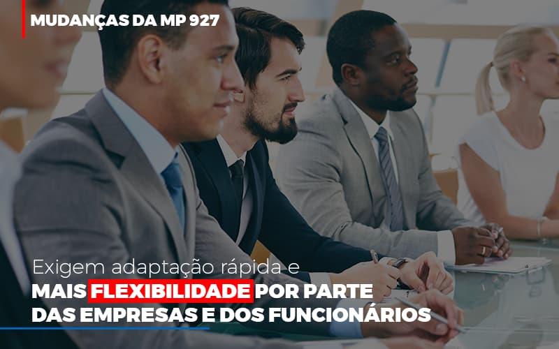 Mudancas Da Mp 927 Exigem Adaptacao Rapida E Mais Flexibilidade (1) - Contabilidade Em Goiânia - GO | Rayc Contabilidade