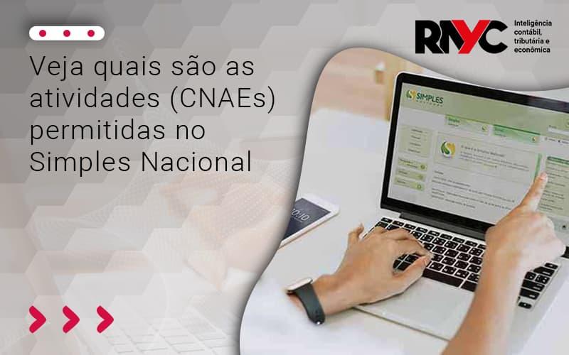 Veja Quais São As Atividades (cnaes) - Contabilidade Em Goiânia - GO | Rayc Contabilidade