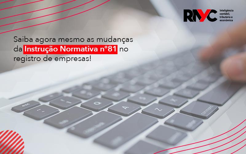 Saiba Agora Mesmo As Mudanças Da Instrução - Contabilidade em Goiânia - GO | Rayc Contabilidade