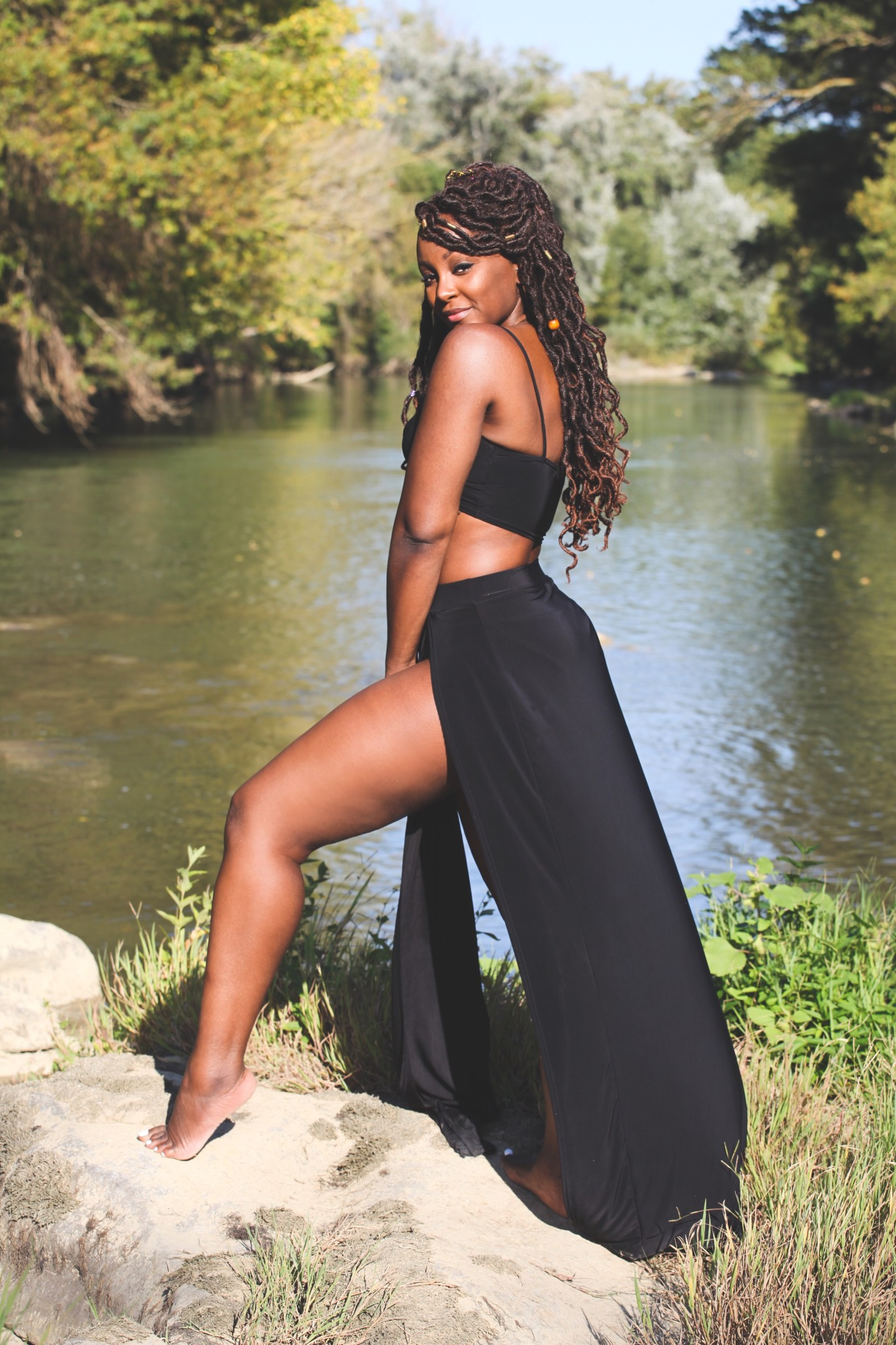 raychel-says-douzens-france-black-swimsuit-co-ord