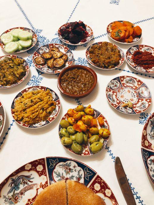 Morocco salad