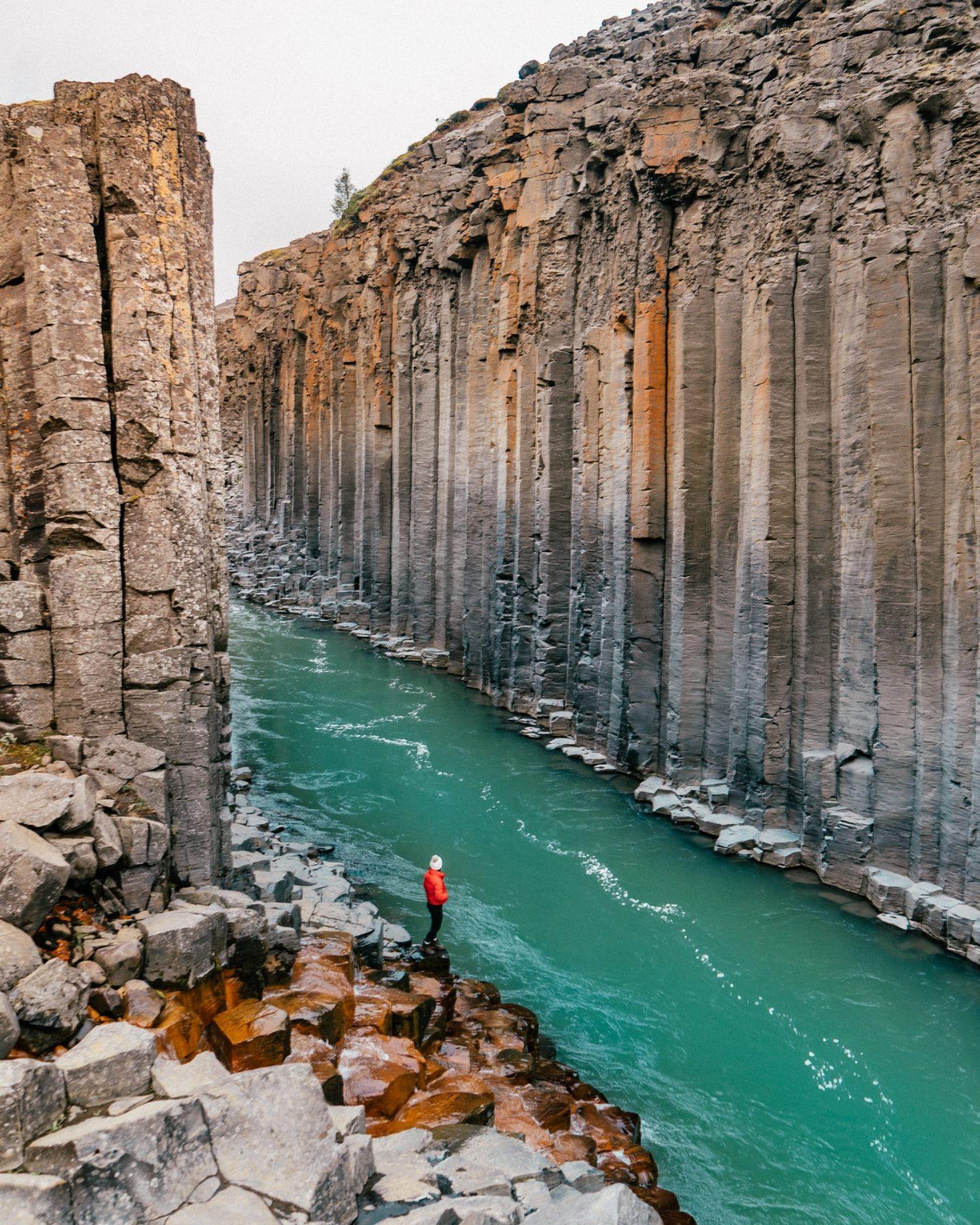 Studlagil Canyon Iceland