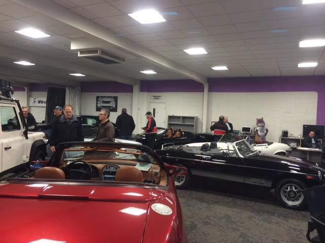 Super Showroom at Rayco Eurospec Motorcars