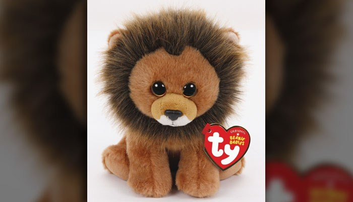 The company that brought you Beanie Babies  is producing a Cecil the Lion plush in memory of the famous lion killed in Zimbabwe. (Source: Ty)