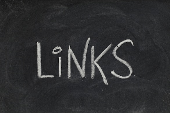 links headline on blackboard