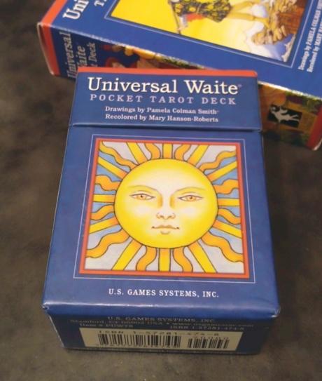 Universal Waite, Universal Waite TAROT DECK, usgames systems inc, ユニバーサルウェイトタロット, ユニバーサルウェイト・タロット, ユニバーサル・ウェイト, ユニバーサル・ウェイト・タロット・デッキ