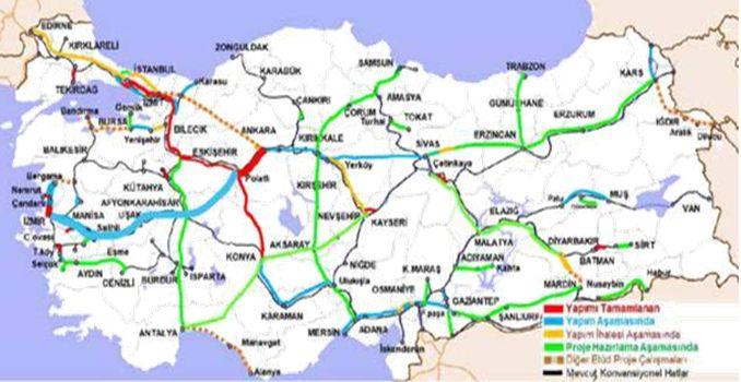 Ankara İzmir High Speed Railway Line
