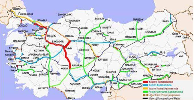 Ankara Konya High Speed Railway Line