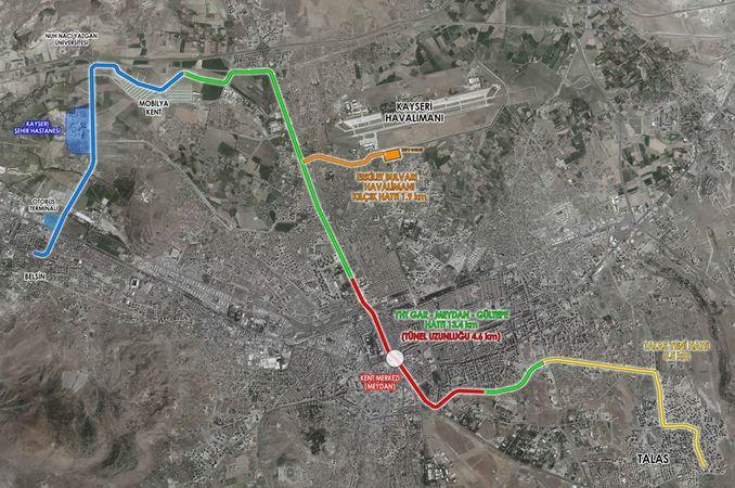 Kayseri New Tram Projects