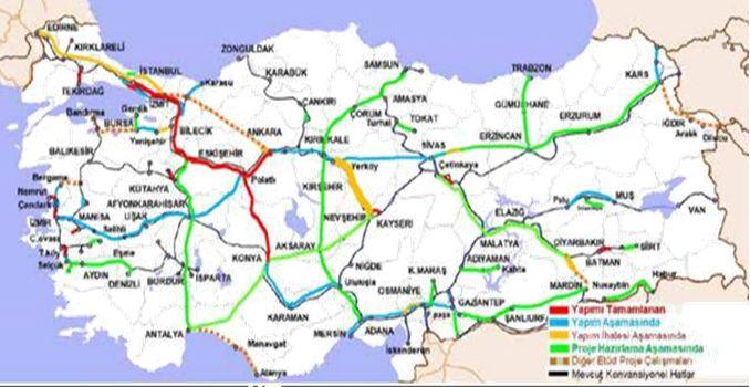 Kayseri Yerköy Yüksek Hızlı Demiryolu Hattı