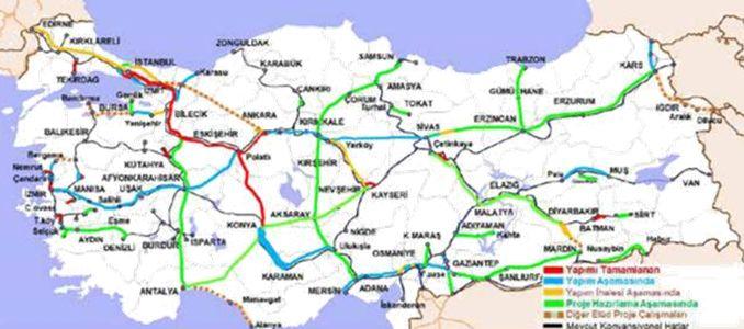 Konya Karaman High Speed Railway Line