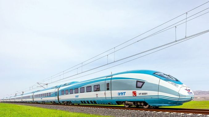high speed train set is coming