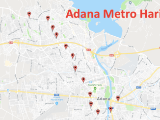 அதானா மெட்ரோ வரைபடம்