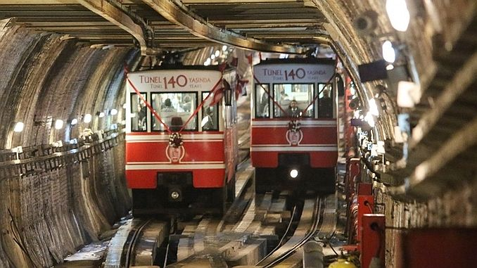 The second subway of the world was built in 1875te in Istanbul