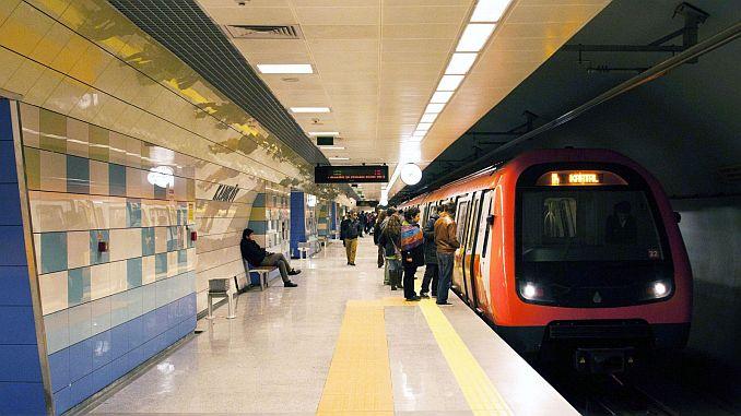 U-Bahn- und Metrobuslinien in Istanbul