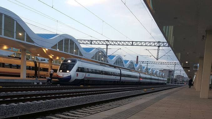Eskisehir Konya High Speed Train Ticket Price and Route Map