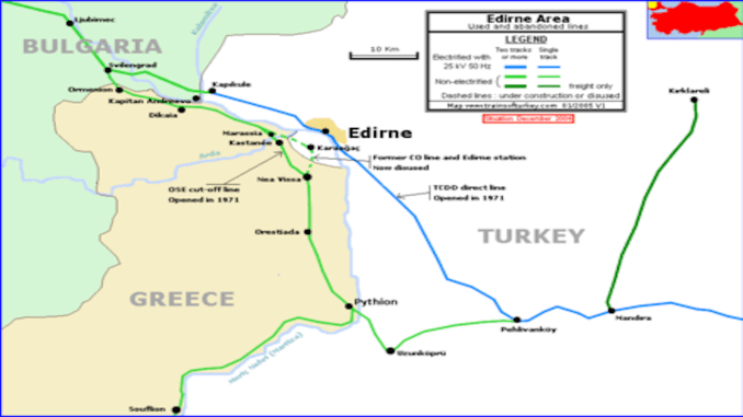 Svilengrad Demiryolu