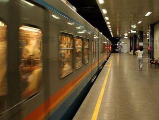 Οθωμανικός σταθμός βάσης του οδικού άξονα της γραμμής του μετρό 2 1