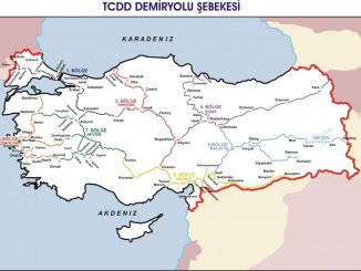 tcdd passenger transport map 2