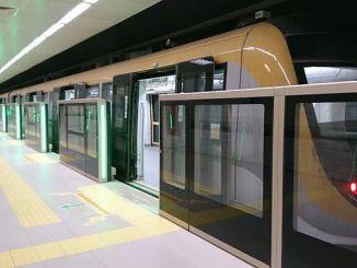 карта метро Стамбул 2019 2