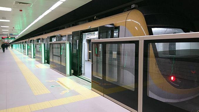 bản đồ tàu điện ngầm istanbul 2019 2
