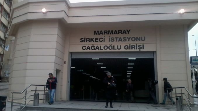 marmarayin sirkeci station was opened, the day was born for philanthropists