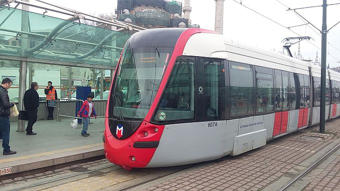 Istanbul Tram Lines 2020