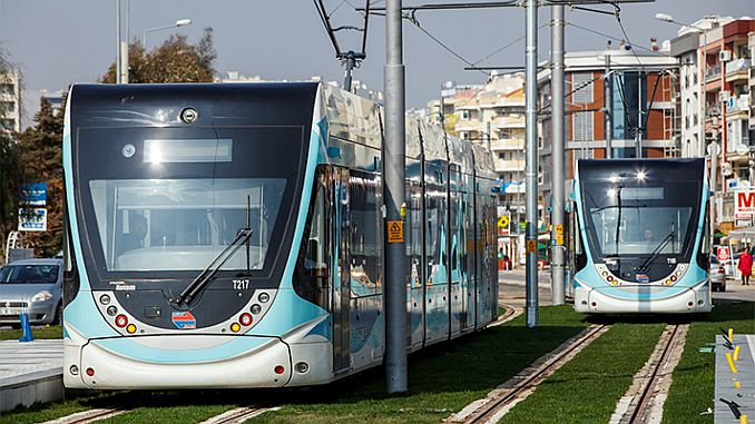 izmir will be on the tram