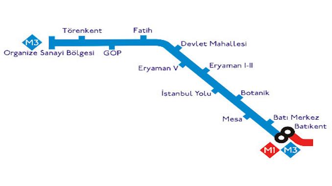 Ankara Batıkent Sincan Metrosu