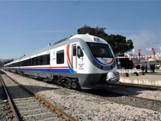 first domestic diesel train set Anatolia