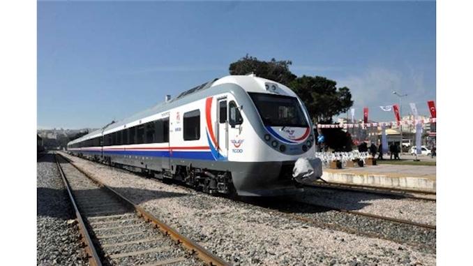 first domestic diesel train set Anatolia