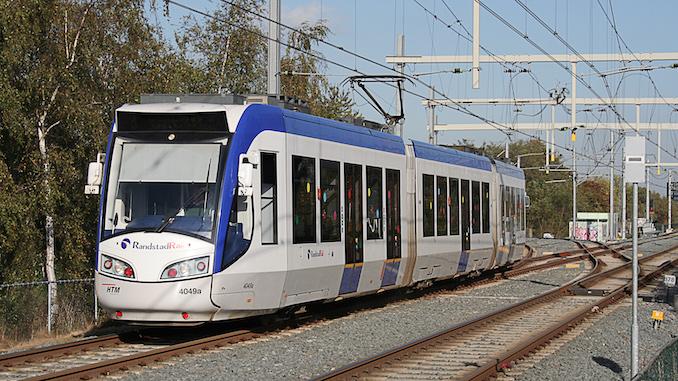 Rotterdam The Hague Tram