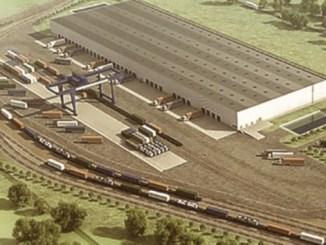 logistics centers railway