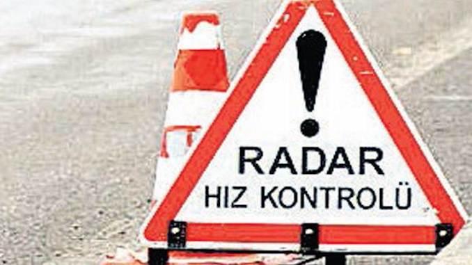 Radar Speed Control