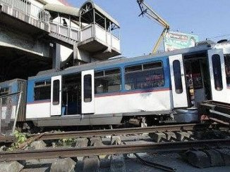أصيب الفلبين في حادث القطار
