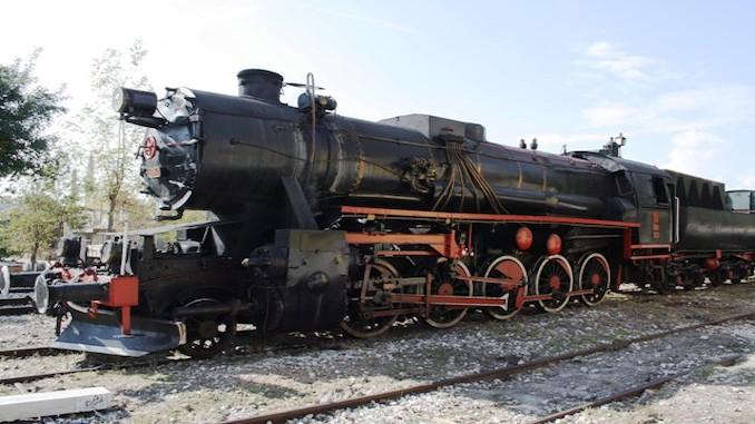Turkey Single steam locomotive Sandikli