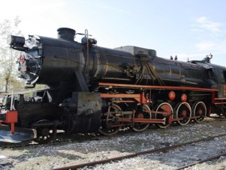 Turkey Single steam locomotive Sandikli