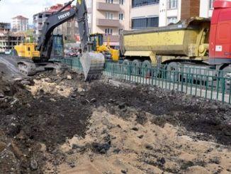 halim stream road is getting ready for emergency