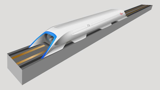 Hyperloop cső nélkül