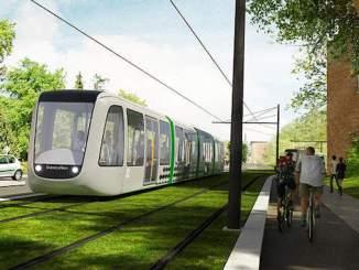 Straßenbahn in Lund