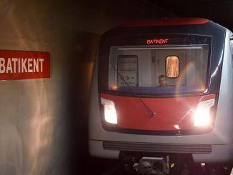 Líneas de metro ankara y paradas.