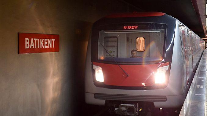 ankara metro lines and stops