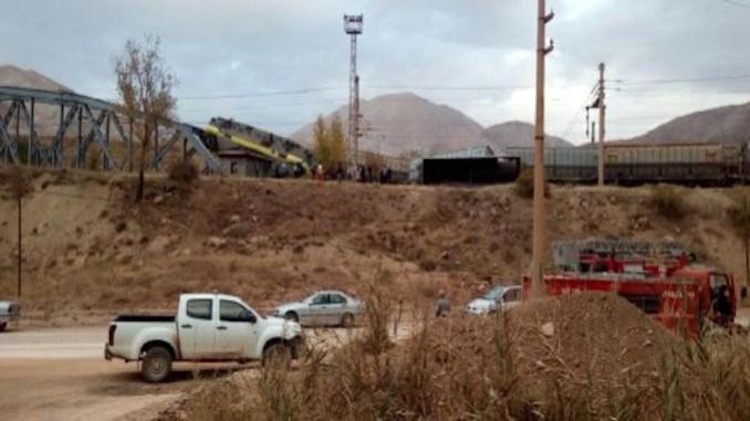 Sivas ta freight train and maneuver train crash